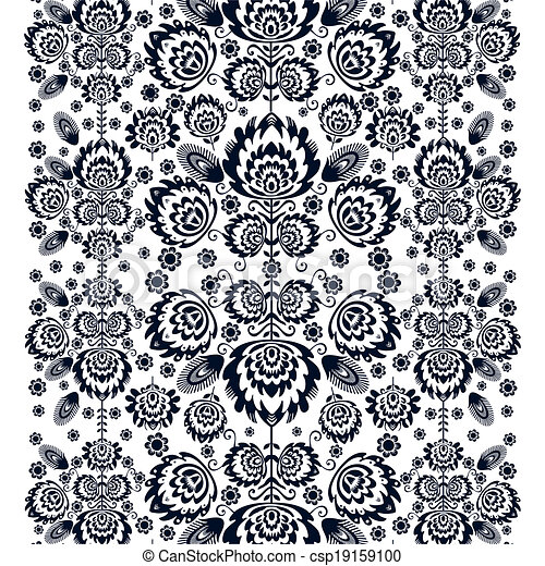 Folk  pattern - csp19159100