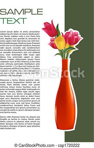 Un folleto de flores - csp1720222