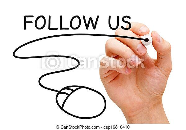 Follow Us Mouse - csp16810410