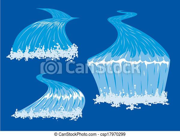 folyók, vízesés - csp17970299