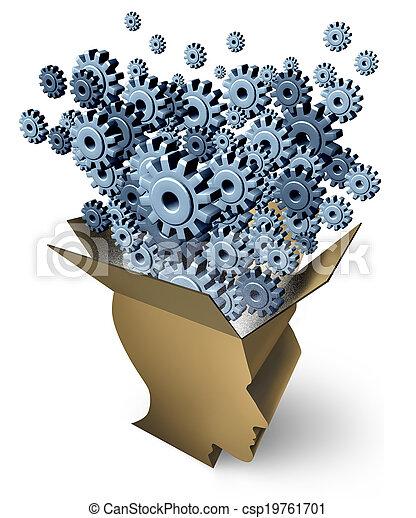 fonction, cerveau - csp19761701