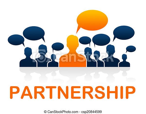 fonctionnement, moyens, association, ensemble, collaboration, coopération - csp20844599