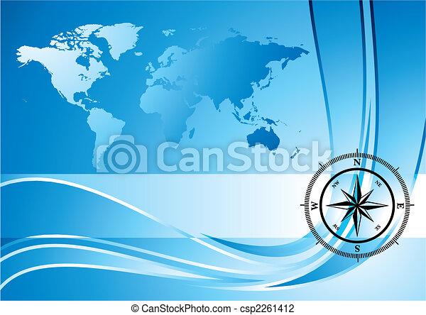 fond, compas - csp2261412