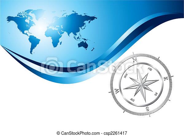 fond, compas - csp2261417