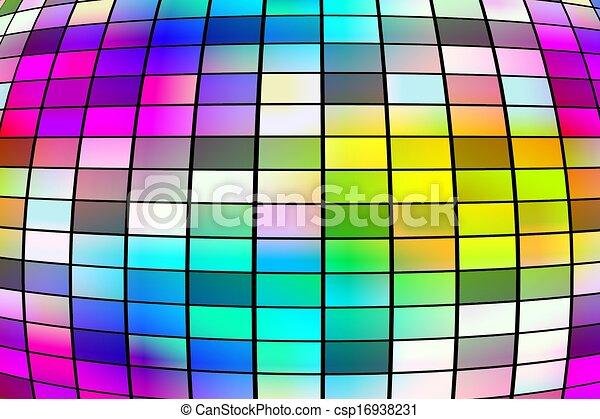 fond, disco - csp16938231
