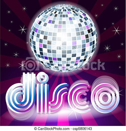 fond, disco - csp5806143