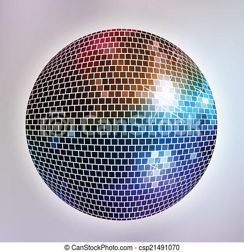 fond, disco - csp21491070