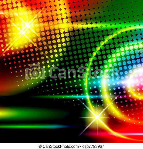 fond, disco - csp7793967