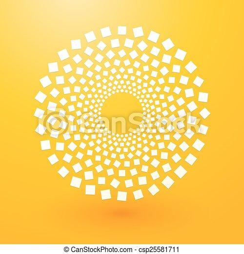 fond jaune - csp25581711