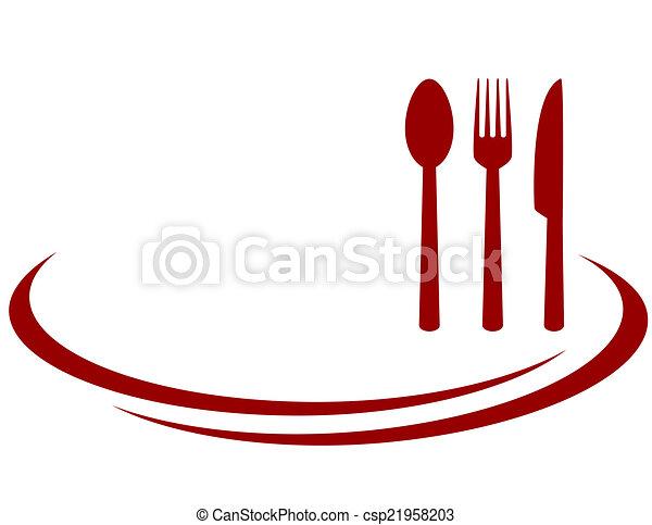 fond, restaurant - csp21958203