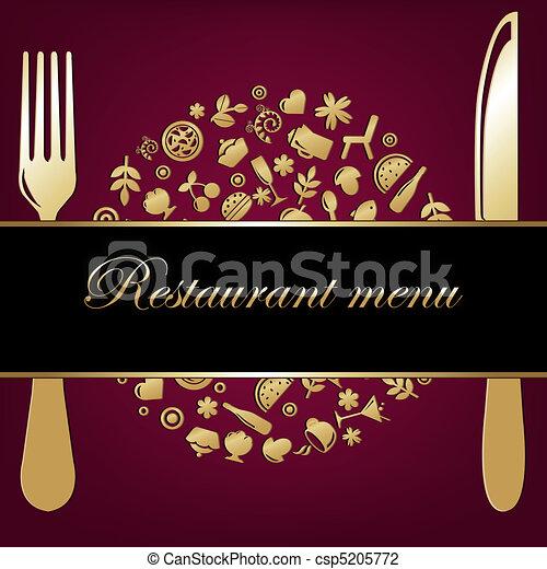 fond, restaurant - csp5205772