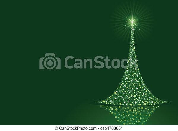 fond, stylisé, arbre noël - csp4783651