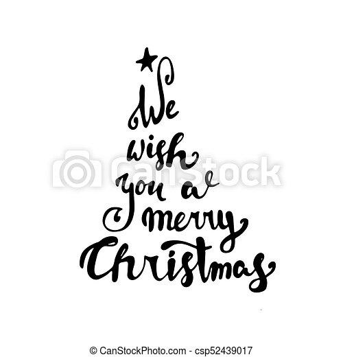 Fond Text Typographie Noir Joyeux Noël Blanc