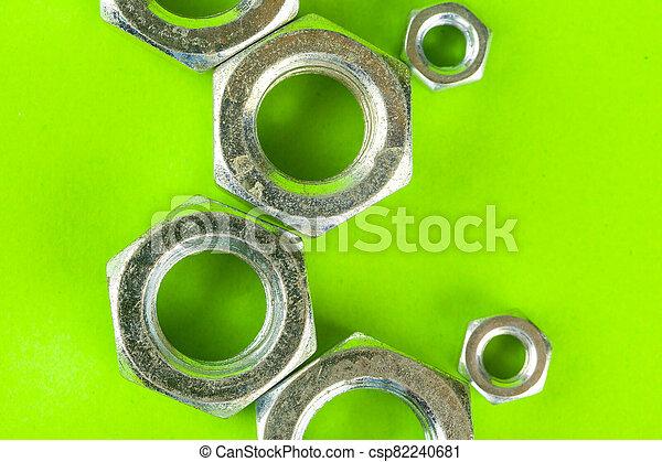 fond, vert, haut fin, tools., fou - csp82240681