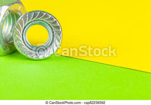 fond, vert, haut fin, tools., fou - csp82236592