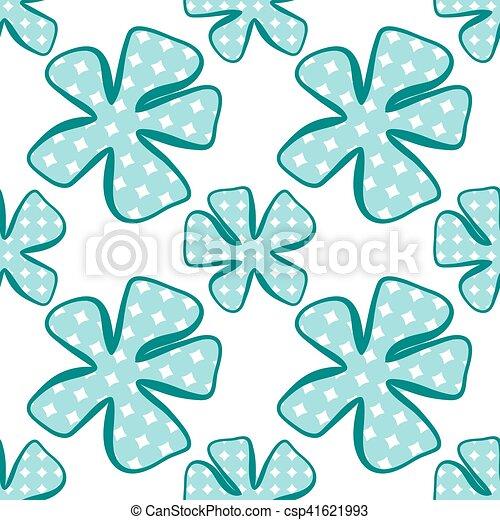 fondo., astratto, fiore, pattern., seamless - csp41621993