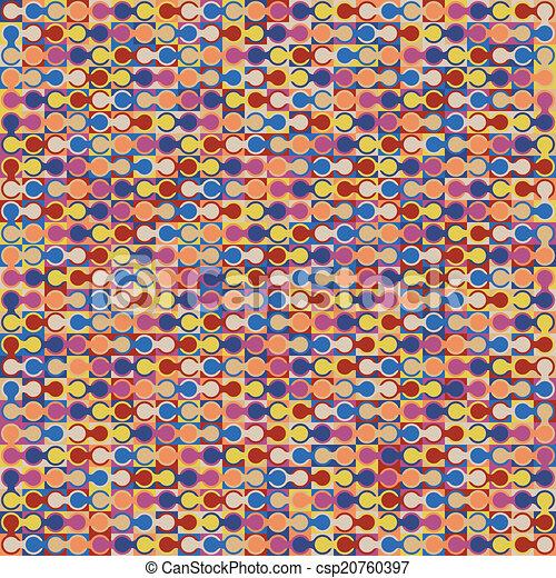 fondo., astratto, geometrico, colorito - csp20760397