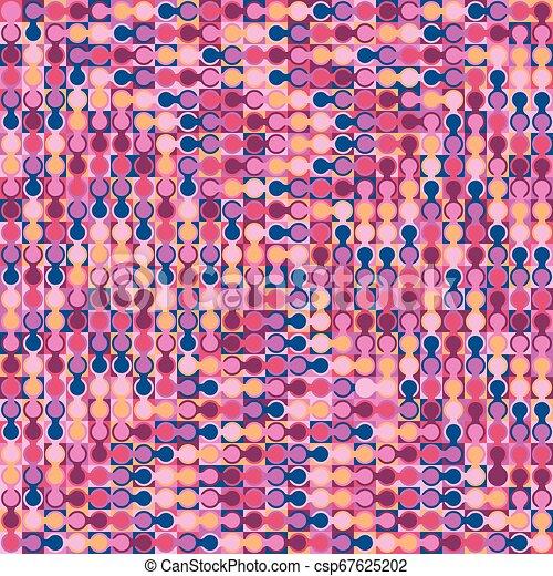 fondo., astratto, geometrico, colorito - csp67625202