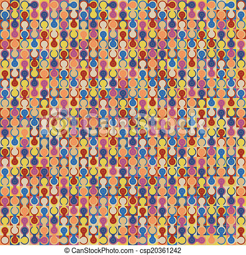 fondo., astratto, vettore, geometrico, colorito - csp20361242