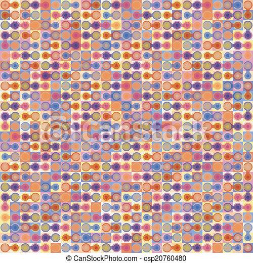 fondo., astratto, vettore, geometrico, colorito - csp20760480