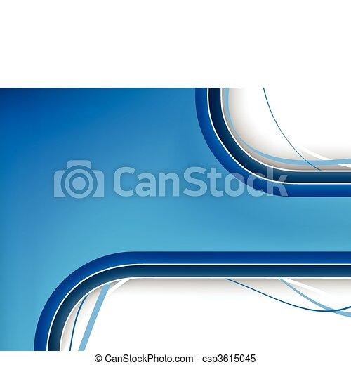 Un fondo azul con espacio - csp3615045