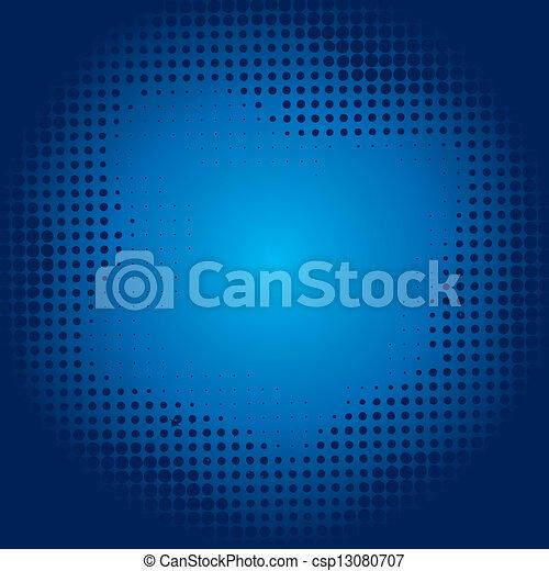 Trasfondo medio azul - csp13080707