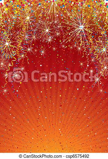 Telón de fondo de celebración - csp6575492