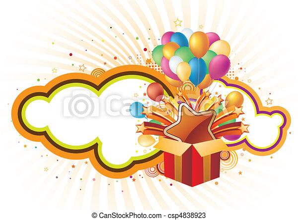 fondo, celebrazione - csp4838923