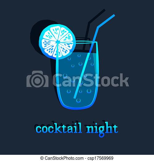 fondo, cocktail - csp17569969