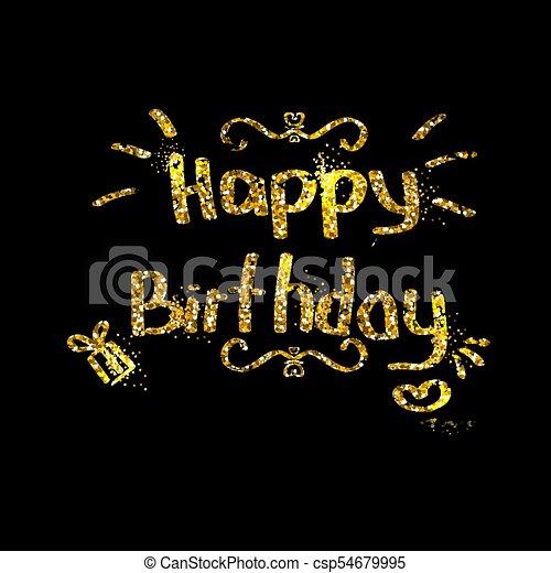 fondo., compleanno, felice - csp54679995