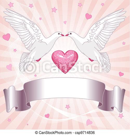 fondo, matrimonio - csp9714836