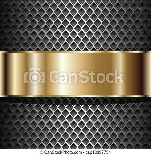 fondo, metallico - csp13337754