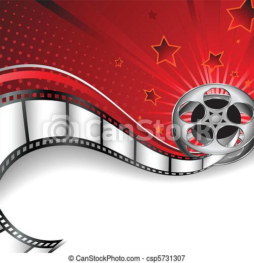 fondo, motives, cinema - csp5731307
