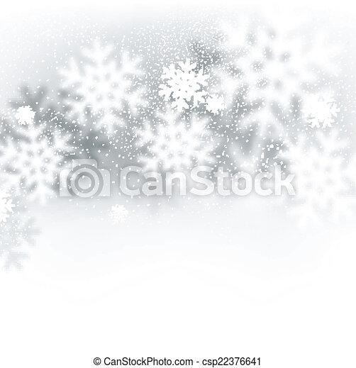 Fondo de Navidad borroso. - csp22376641