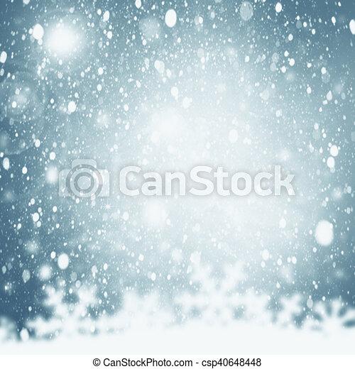 Trasfondo navideño. - csp40648448