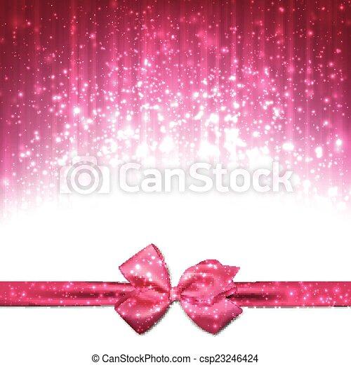 Trasfondo abstracto navideño. - csp23246424