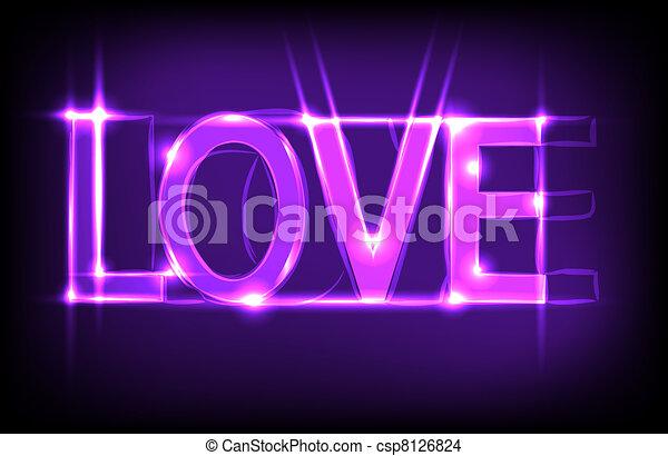 El amor es un fondo abstracto. La mejor opción - csp8126824