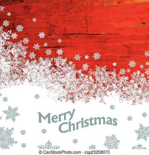 Feliz Navidad. Vector - csp23258073