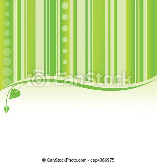 Antecedentes de la naturaleza verde. Vector - csp4366975