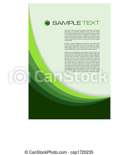 fondo verde - csp1720235