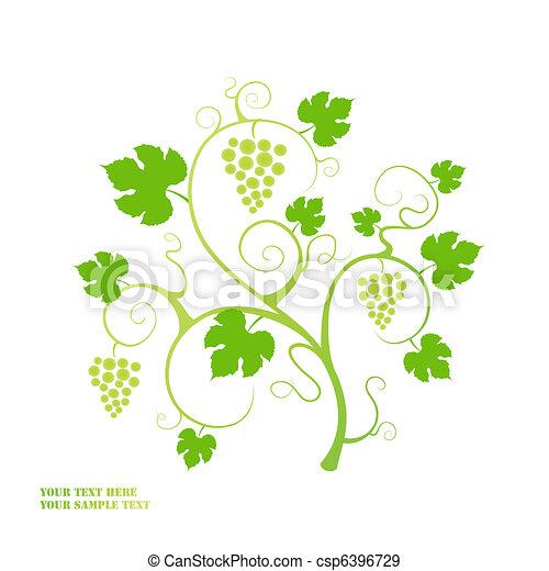 Viña de uva. - csp6396729