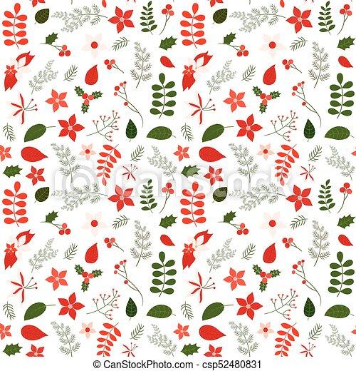 Fondos, vector, feriado, patrón, hojas, diseños, envoltura, seamless ...