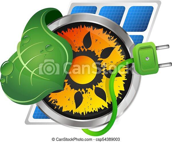 fontes, energia alternativa - csp54389003
