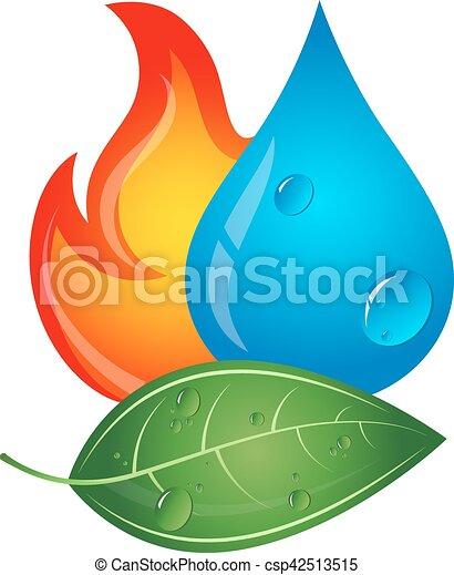 fontes, energia, emblema, renovável - csp42513515