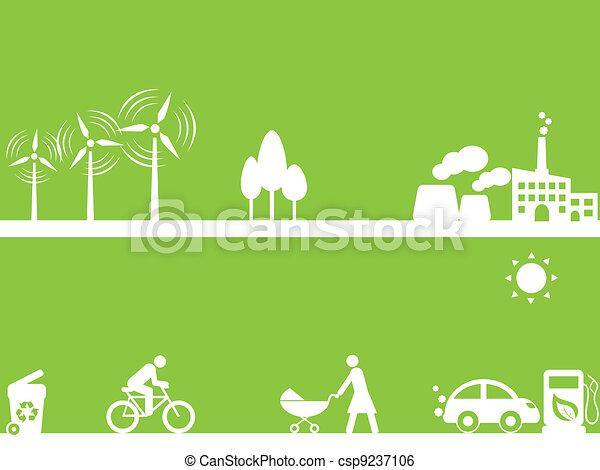 fontes, energia, limpo - csp9237106