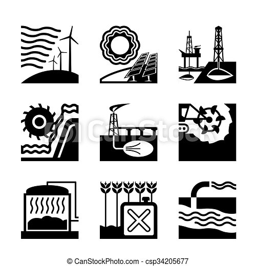 fontes, energia, natureza - csp34205677