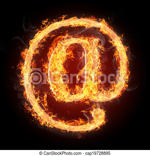 Fonts and symbols in fire for different purposes letters and fonts and symbols in fire for different purposes csp19728895 altavistaventures Images