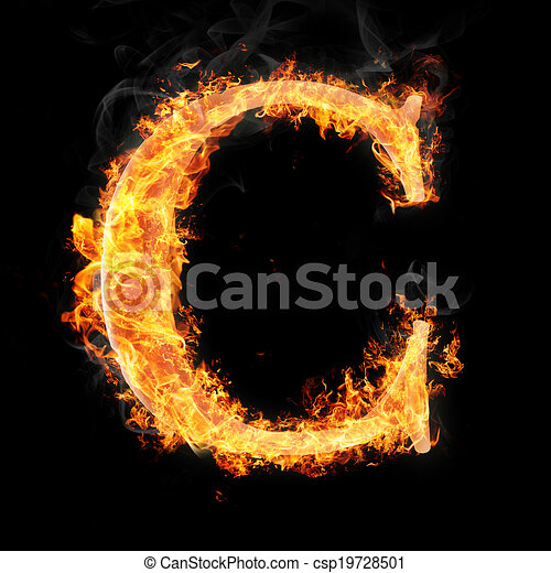 Fonts and symbols in fire on black background for different purposes letters and simbols in fire letter c for more words fonts and symbols see my portfolio thecheapjerseys Images