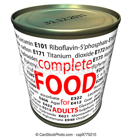 Food additives - e-numbers - csp9770210