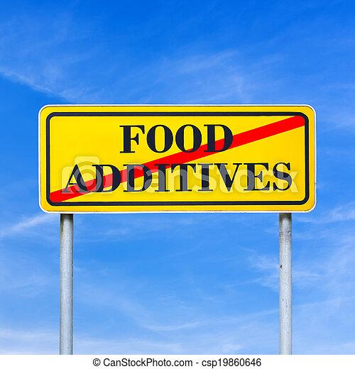 Food additives prohibited - csp19860646